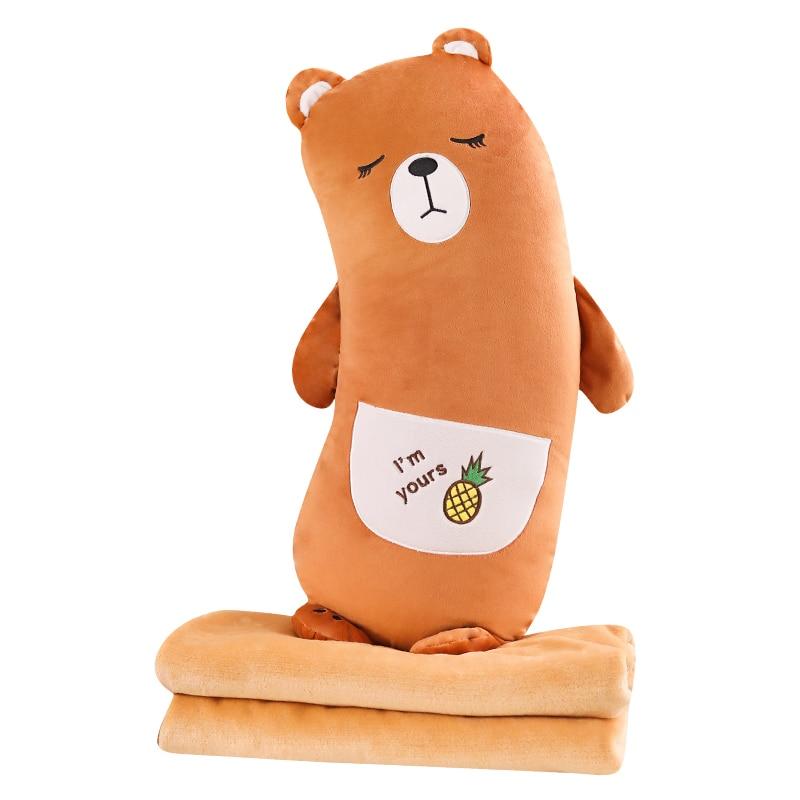 Ours de fruits couverture oreiller Fruits oreiller d'ours cadeau d'anniversaire