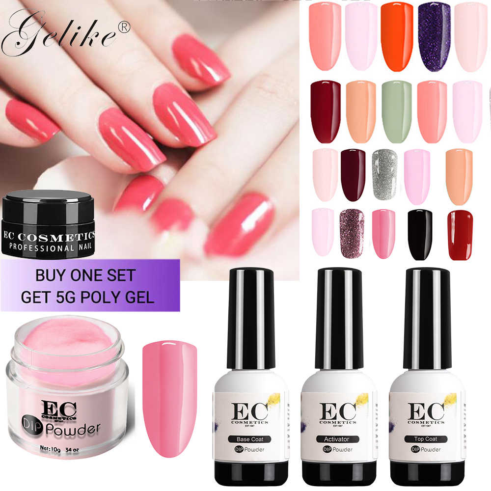 Detail Feedback Questions about Dip Powder Nail Gel Designs System ...