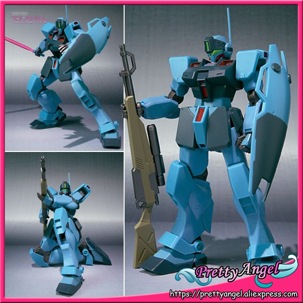 Japan Anime Original Bandai Tamashii Nations Robot Spirits No.075 Gundam Action Figure - GM Sniper II original bandai tamashii nations robot spirits exclusive action figure rick dom char s custom model ver a n i m e gundam