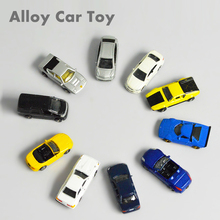 Teraysun 10pcs miniature model car kits diecast scale model alloy car 1:150 стоимость