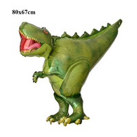 dinosaur balloons party decoration supplies toys imported personalized animal shaped kids baby birthday balloons