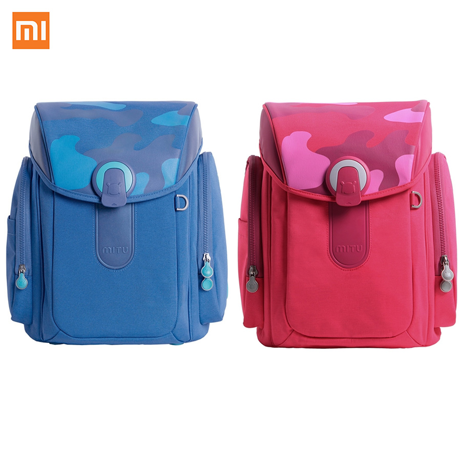 Xiaomi 13L 1kg Weight Night vision Waterproof Kids Shool Bag Casual Decompression Spinal Dirt Resistant Children