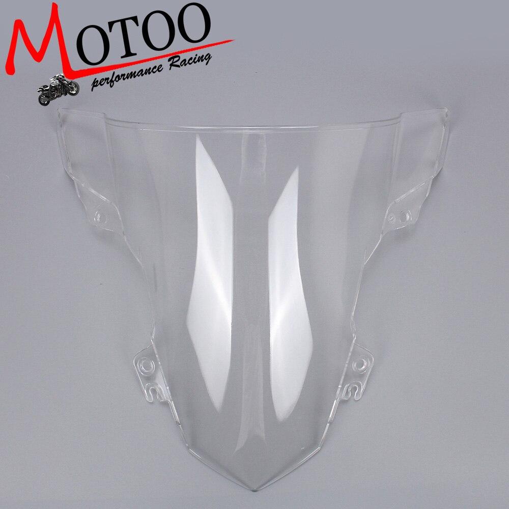 Motoo -Windshield WindScreen Double Bubble for BMW S1000RR 2015 2016 motoo windshield windscreen double bubble for honda cbr600rr f4 1999 2000