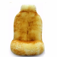 100% Real Whole Sheepskin Car Seat Cover, Super Warm Fur Car Seat Cushion, Wholesale Promotion High Quality Wool seat covers