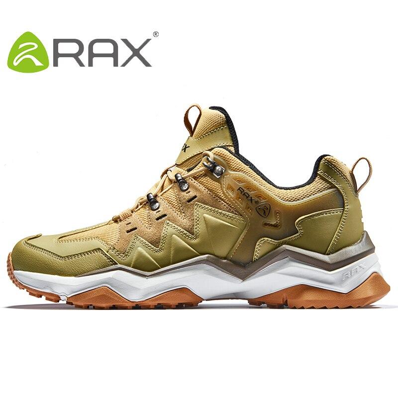 Rax Men Hiking Shoes Non-slip Climbing Hiking Shoes Original Tourism Sneaker Outdoor Waterproof Trekking Shoes Plus Size 39-45
