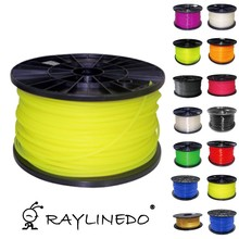 Yellow Color 1Kilo/2.2Lb Quality PLA 1.75mm 3D Printer Filament Fluorescent 3D Printing Pen Materials