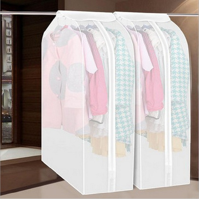 Dust Damp Proof Cover Protector Bag Case Organizer For Closet Wardrobe  Storage Of Garment Sweater Fur