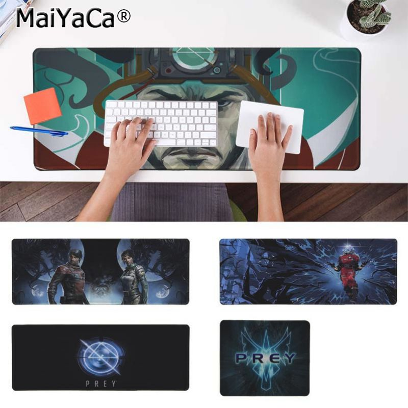 Yinuoda New Designs Prey Keyboard Gaming MousePads Size for 180*220 200*250 250*290 300*900 and 400*900*2mm