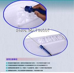 Cortador de espuma de poliestireno de cuchillo caliente de artesanía 1 Unidad 10 CM corte de pluma máquina de corte de tablero de espuma KT adaptador de transformador de voltaje electrónico