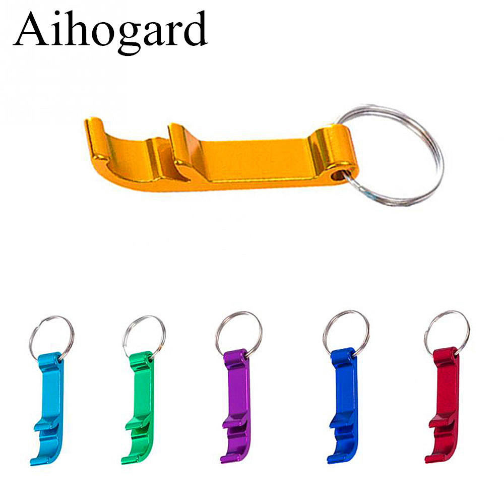 Portable 4 In 1 Bottle Opener Keychain Beer Opener Coconut Opener Beer Bar Tool Handy Lid Wedding Favors And Gifts Drop Shipping