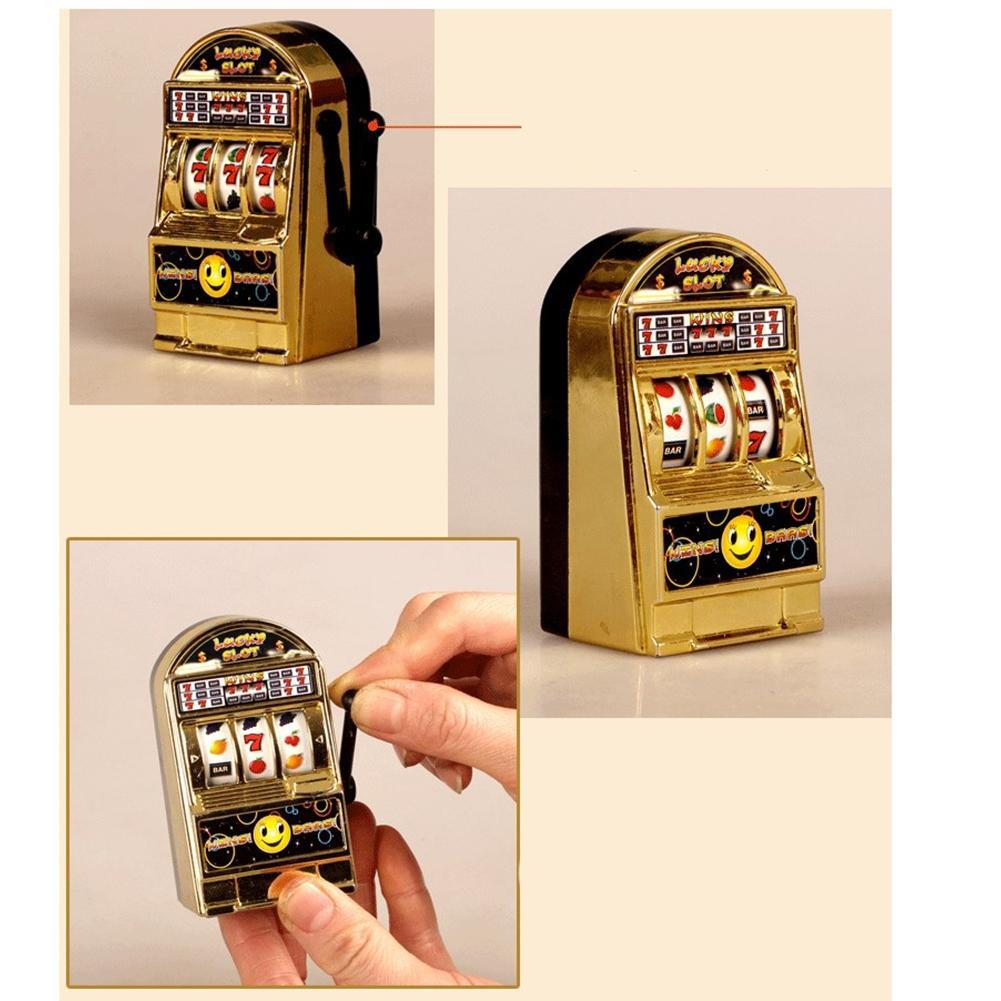 LeadingStar Children Adult Mini Casino Jackpot Slot Machine Fruit Relieve stress Anxiety Boredom Decompression Funny Toy zk30