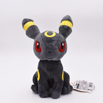 20cm Pikachu Series Eevee Umbreon Peluche Doll Soft Toy Classic Plush Toy Baby Christmas Gift Free Shipping 30cm height limited edition eevee luma anime new plush doll for fans collection toy celebi