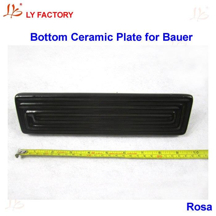 Original Bauer 220V 500W Bottom Heating Plate Ceramic Heating Element for IR PRO SCC V.4 original ir9000 top ceramic plate 250w elstein bottom heating plate 1000w