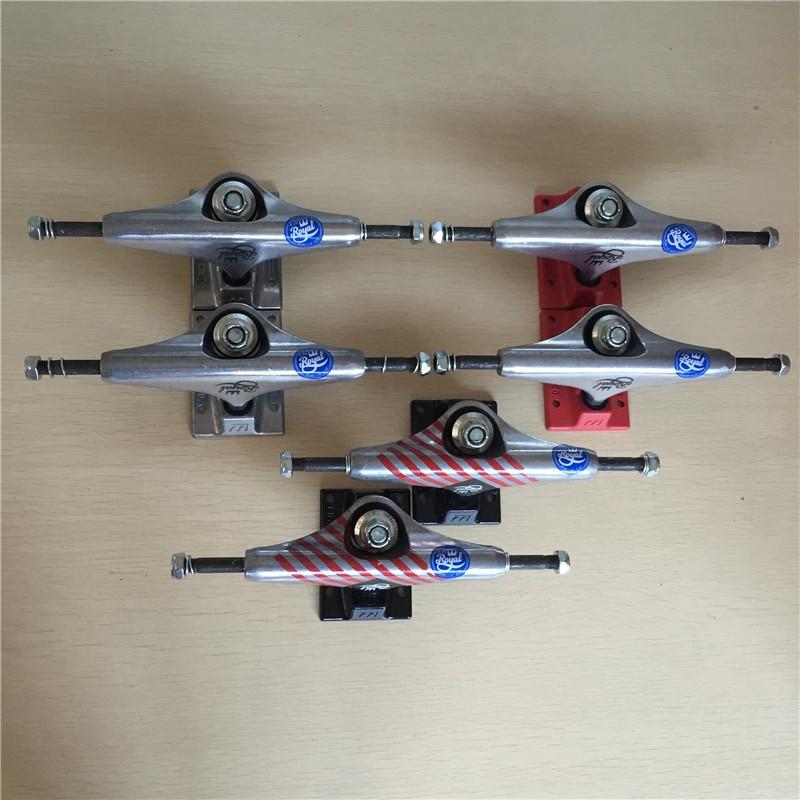 3Types Available 2PCS Skateboard Trucks 5.25 Trucks for Complete Skateborad  Aluminum Trucks De Skate
