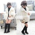 casaco menina infantil Winter baby faux fur Girls Bab Parka baby elegant winter Luxury Faux Fur lilica menina baby clothes