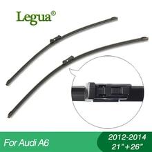 купить 1 set Wiper blades for Audi A6(2012-2014),21+26,car wiper,Boneless wiper, windscreen, Car accessory дешево