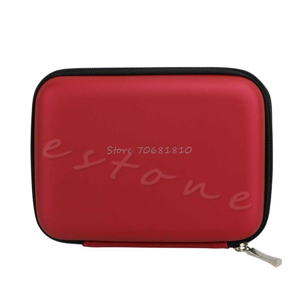 الأزياء حقيبة غطاء حقيبة ل 2.5 بوصة USB الصلب الخارجية WD HDD محرك أقراص انخفاض الشحن