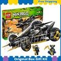 286 шт. Бела 9759 Ninja коула Протектора Нападение Строительный ZX Skales DIY Действие Игрушки Совместимость С Lego