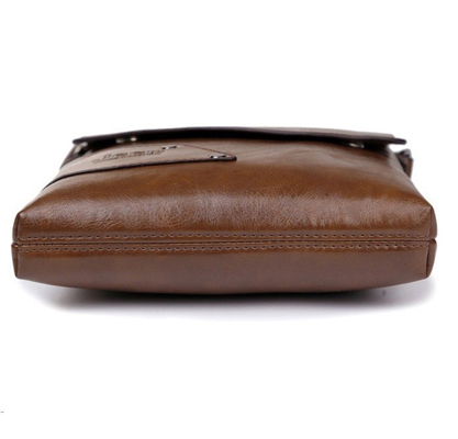2018 New Men leather famous brand Messenger Bags Bag Fashion Casual Business Shoulder bags for man,Men's Travel Bags NB1805 6