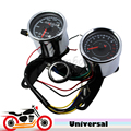 Universal 12v Motorcycle Scooter Speedometer Tachometer Set 0~160km/h Odometer  0-13000 RPM Tacho Gauge with LED Backlight
