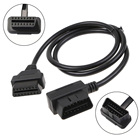 60CM OBD II OBD2 16 Pins Male To Female Extension Cable Diagnostic Extender Cord XXM8