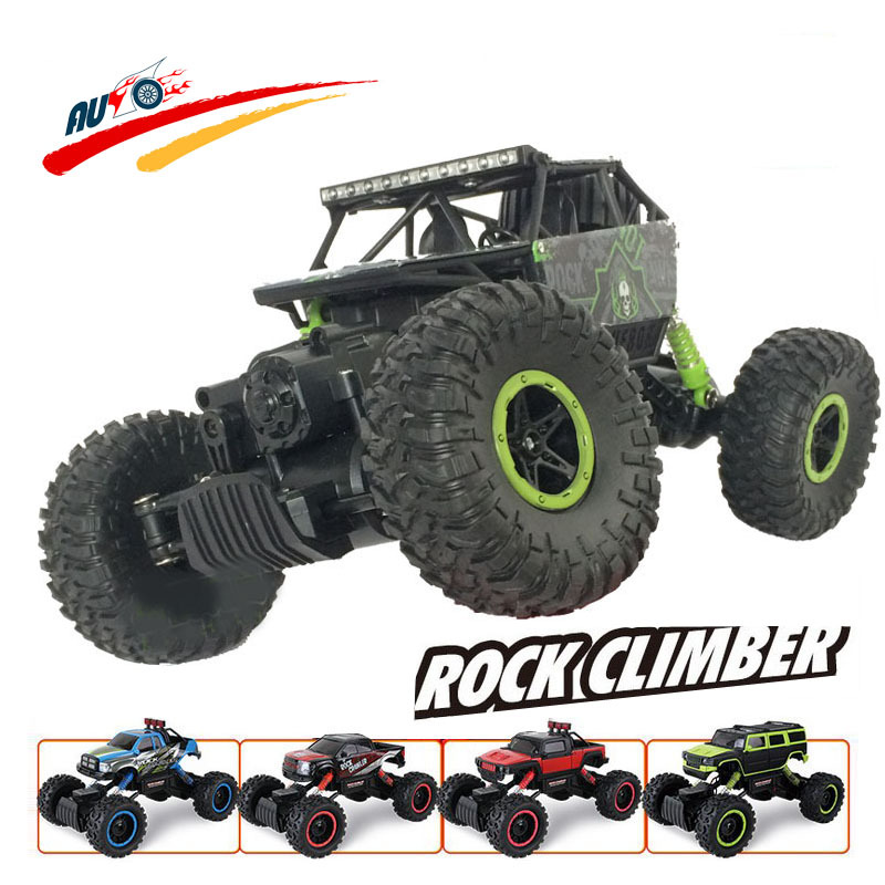RC Car 2 4G 4CH 4WD Rock Crawlers 4x4 Driving Car Double Motors Drive Bigfoot Car