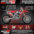 CR CRF 250 450 CR250F X CR450F X FX 22 Style Customized Graphics Background Decals Stickers Motorcycle Dirt Bike MX Racing Part