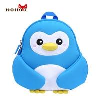NOHOO Kids Children S Backpacks 3D Cute Cartoon School Bags Gift Toddler Boys Girls Pengiun Pretty