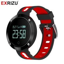 Exrizu EX58 Спорт Bluetooth Smart Band измеритель пульса и крови Давление монитор шагомер часы IP68 Браслет фитнес-браслет