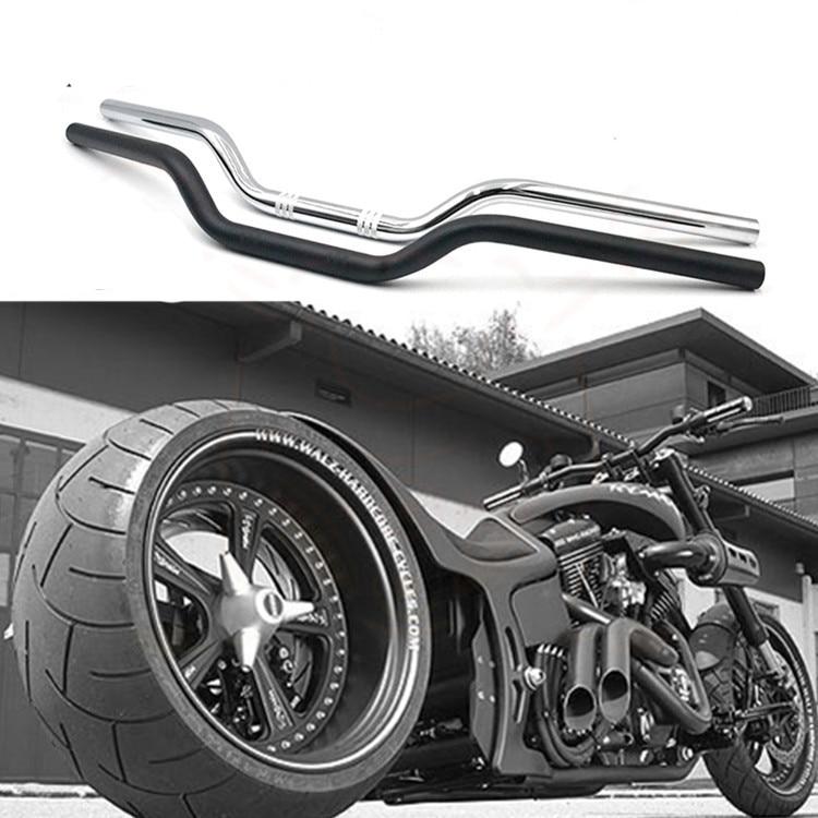 "7//8/"" 1/"" Motorcycle Drag Bar Handlebar For Harley Sportster XL883 1200 XL Bobber"