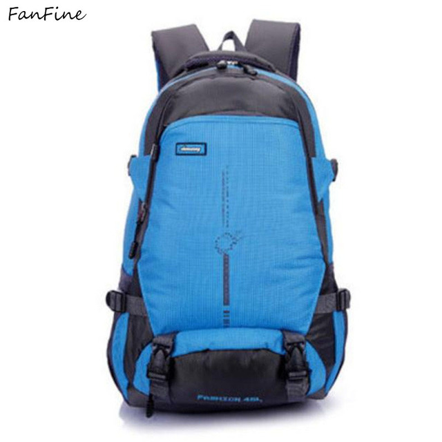FanFine 2018 new hot shoulder bags Travel men Backpack Bicycle Bags  Waterproof male laptop back pack f52a5067a0816