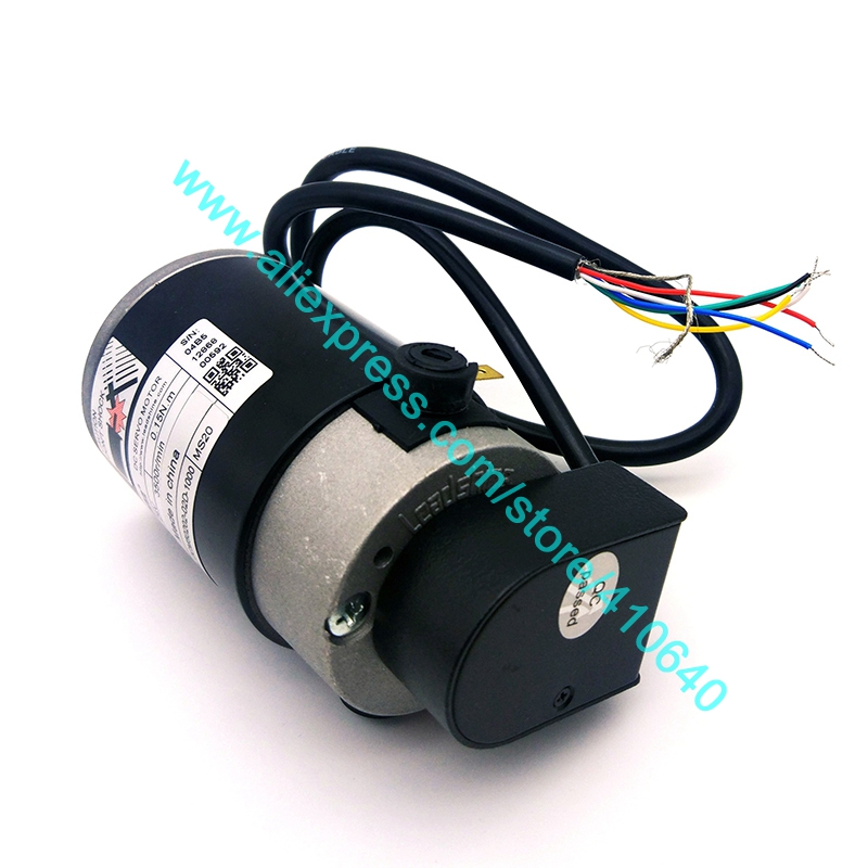 Genuine Leadshine DCM50202 02D 1000 50W Brushed Servo Motor with 4600 rpm max speed and 1000 Line Encoder in DC Motor from Home Improvement