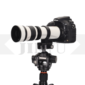 2019 JINTU 420-800mm F/8.3-F16 HD MF Telephoto Zoom Camera Lens for NIKON D3 D3X D300S D500 D600 D700 D750 D850 D90 D5500 D5600