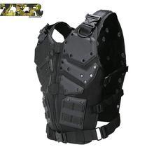 Unloading Tactical Men Combat Vest Tactical Military Vest Camouflage Vest Body Molle Armor Cs Jungle Equipment Masculino Jackets