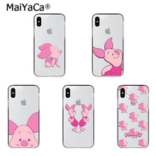 MaiYaCa Piglet lovely soft tpu Phone Accessories Case for