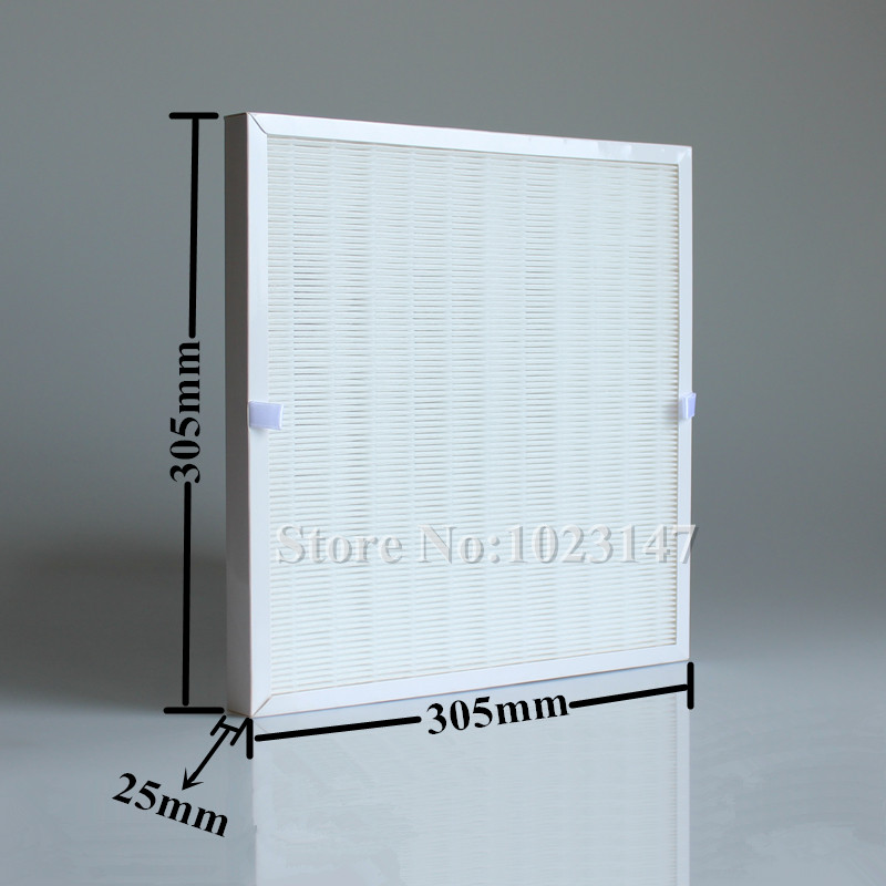 1 piece DIY 305mm *305mm Air Purifier Parts HEPA Dust Filter Free Shipping ! free shipping wholesale price true hepa bedroom air purifier 4 in 1 coverage 15 sq m noise less than 35db 10qb deodorization