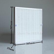 1 шт. DIY 305 мм * 305 мм очиститель воздуха части HEPA фильтр бесплатная доставка