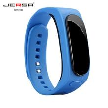 SmartBand Смарт часы jersa B1 оптовая bluetooth гарнитуры talkband Водонепроницаемый анти-потерянный Сообщение Напомнить сигнализации touch