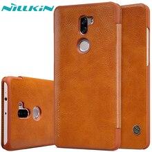 Nillkin Чехол для Xiaomi Mi 5S Плюс 5.7 Case Luxury Флип кожа Слот для Карты Задняя Крышка для Xiaomi Mi5S Плюс Защитный Чехол Shell