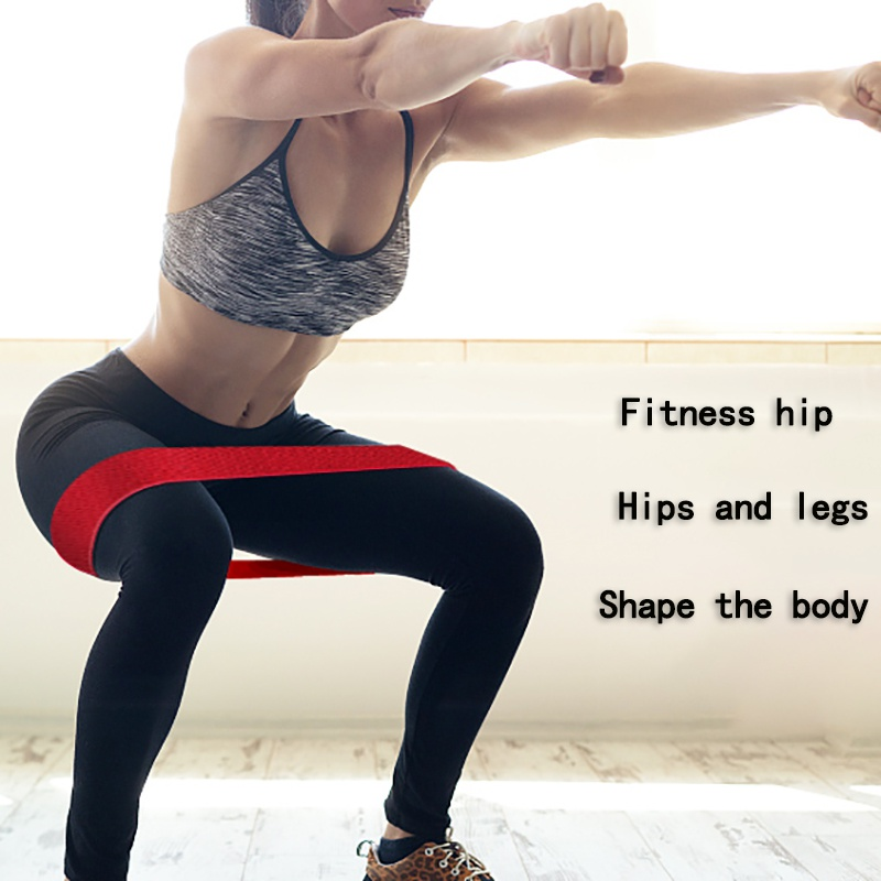2018 Hip Loop Exercise Bands Thick Non Slip Workout Bands