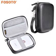 fosoto Portable Case Shell Cover Travel Carrying Storage Bag For Polaroid ZIP Mobile Printer HP Sprocket Portable Photo Printer(China)