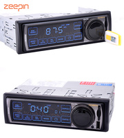 Universal 12V Bluetooth Car Radio 1 DIN Touch Screen Car MP3 Player Audio Stereo FM USB