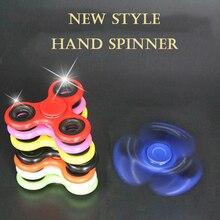 20pcs/lot 8 Color Fidget Tri-Spinner Hand Spinner Fidget Toys EDC Fidget Spinner For Autism ADHD EDC DESK TOY Random Color