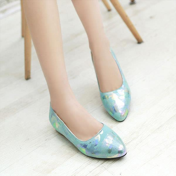 ФОТО New 2015 women Round toe sweet comfortable low heels pumps Spring designer Low shoes women's thick heels single shoes OX117