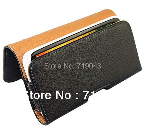 NEW For PU Leather Pouch Leather Case Holster Cover for For iphone5 5s PU leather pouch, free shipping