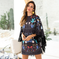 Beach Dress For Women Swimming Suit Woman Cover Up Tunic Women's Summer Lace 2019 Winter Commuter Skirt Print Acetate FMZXG