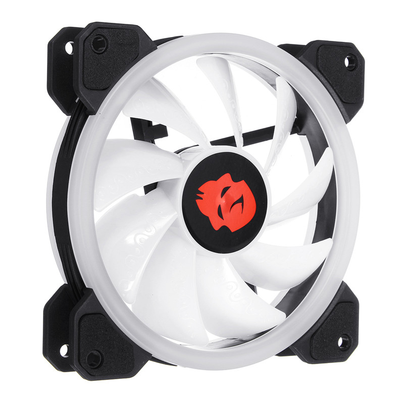 120mm High Air Flow LED Computer CPU Cooling Fan Cooler RGB Silent CPU Cooling Fans CPU Radiator Heatsink For PC Case 1 5u server cpu cooler computer radiator copper heatsink for intel 1366 1356 active cooling