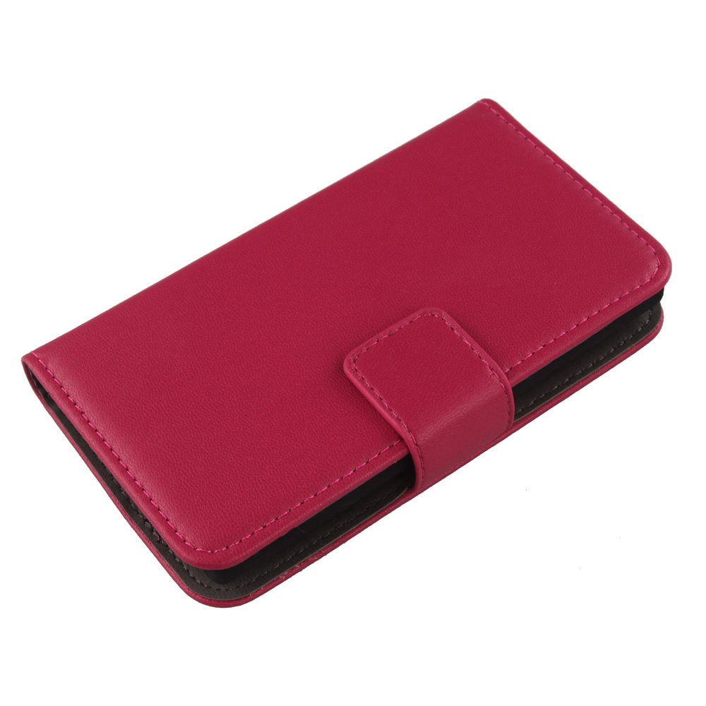 LINGWUZHE Luxury Cell Phone Genuine Leather Case With Card Slot Cover For Creev Mark V Prime 4G LTE 5''