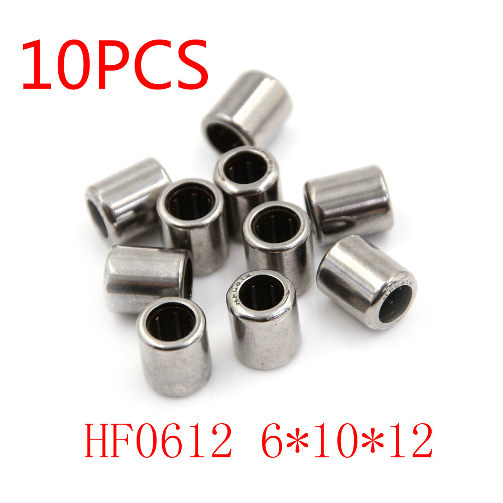 HK061010 Needle Roller Bearing 6mm x 10mm x 10mm 2 PCS 6x10x10mm