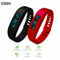 SH01 Smart Wristband OLED Healthy Bracelet Bluetooth 2.1 Pedometer Calorie Counter Fitness Tracker Smartband For Android ISO